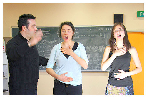 Small Group Vocal Classes Melbourne
